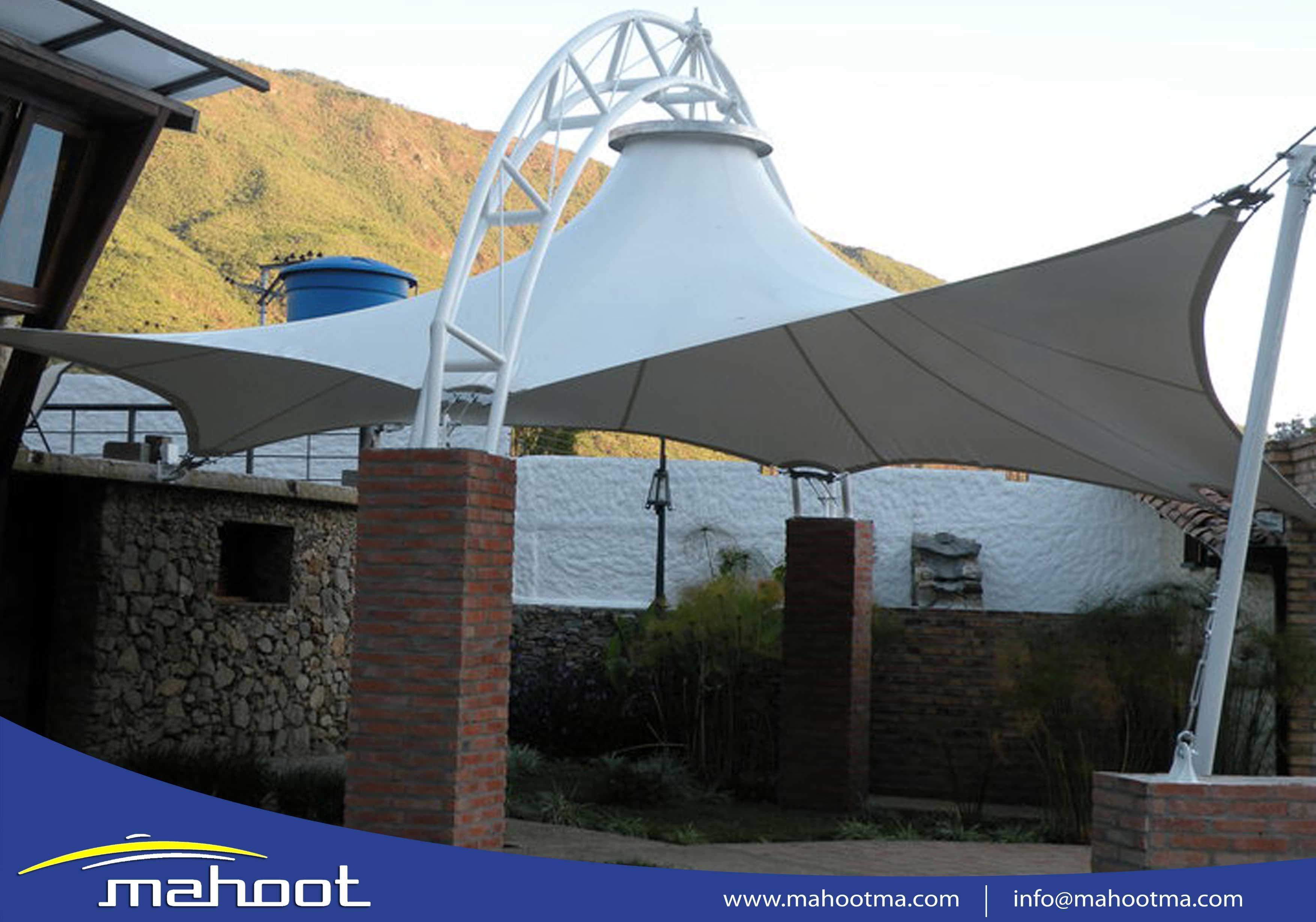 سازه های چادری ماهوت