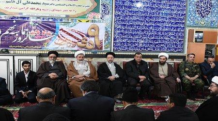 مراسم بزرگداشت حماسه ۹دی و چهلمین سالگرد پیروزی انقلاب اسلامی