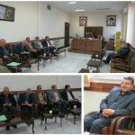 دیدار شهردار، رییس و اعضای شورای اسلامی شهر اسکو با دادستان عمومی و انقلاب شهرستان اسکو