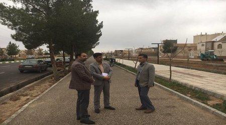 بازدید کارشناسان دفتر امور شهری و شوراهای استانداری خراسان جنوبی از شهرداری فردوس