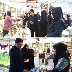 بازدید شهردار خرمشهر از نمایشگاه صنایع دستی