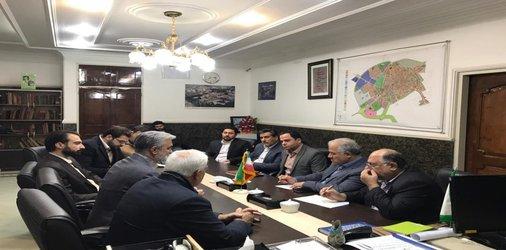 چهارمین جلسه مشترک شورای اسلامی شهر و شهرداری دامغان با شرکت کاراسازه متین