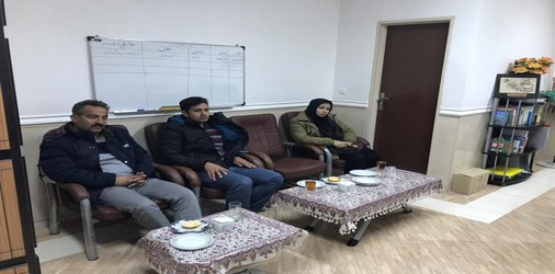 جلسه بررسی مشکلات و ارائه راهکارهای تعامل و توسعه فعالیت های بخش تولید فرش و منبت کاری