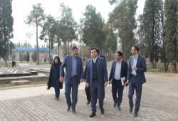اتمام عملیات عمرانی المان ورودی شیراز از سمت جاده بوشهر