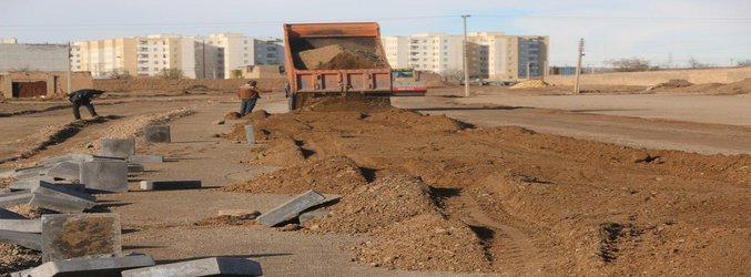 ادامه اجرای عملیات احداث کمربندی شمال شهر ساوه