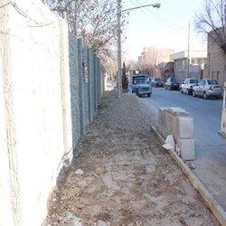 پیاده رو سازی و استاندارد سازی پیاده رو های سطح شهر