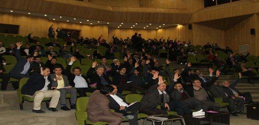 گزارش تصویری برگزاری مجمع فوق العاده و انتخابات بازرسان