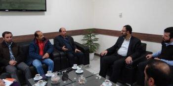 نشست مشترک رئیس سازمان نظام مهندسی خراسان شمالی با مدیرکل ثبت اسناد و املاک استان