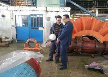 بازدید مدیر عامل شرکت تولید نیروی برق شازند از روند اورهال واحد یک نیروگاه