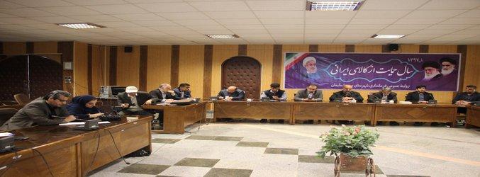 نشست صمیمانه فرماندار، شهام سلیمانی شهردار و مدیران دستگاههای خدمات رسان با اصحاب رسانه برگزار شد
