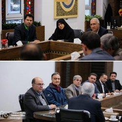 دیدار هیات رئیسه سازمان با شهردار اصفهان