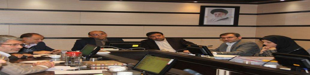 جلسه کارگروه تخصصی امور زیربنائی و شهرسازی استان البرز برگزار شد