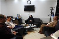 حضور مدیرکل حفاظت محیط زیست مازندران در دفاتر خبرگزاری ایرنا و سایت خبری تیتر امروز
