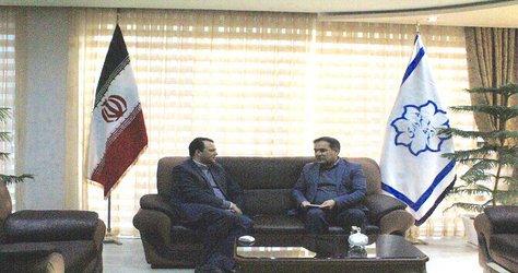 دیدار شهردار آذرشهر با رییس اداره پست
