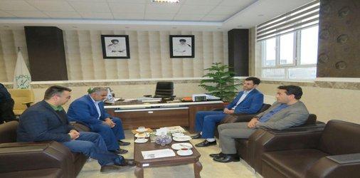دیدار رییس بانک مهر اقتصاد با شهردار اسکو در خصوص افزایش همکاریها