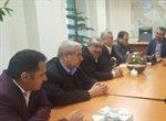 دیدار شهردار ارومیه و اعضای شورای اسلامی شهر با معاون حمل و نقل وزارت راه و شهرسازی کشور