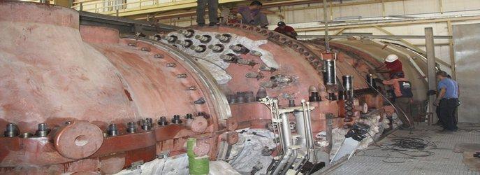 واحد دو نیروگاه گازی خلیج فارس برای انجام تعمیرات نیمه اساسی از شبکه برق خارج شد