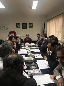 برگزاری دومین جلسه بررسی راهکارهای وصول شرکت بهره برداری از شبکه های آبیاری و زهکشی گیلان