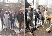 طرح جهادی مخلوط ریزی، تسطیح و پاکسازی محله حسنجون و سید آباد
