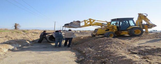 بازدید شهردار از پروژه های عمرانی در حال اجرا