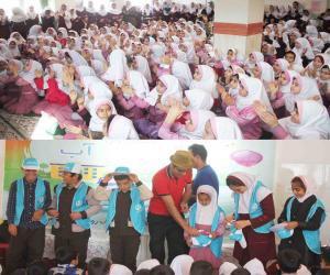 برگزاری جشنواره نخستین واژه برای ۳۰۰۰ دانش آموز ابتدایی در روستاهای استان مرکزی