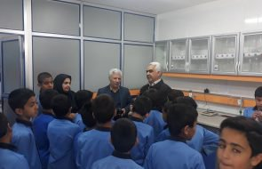 بازدید دانش آموزان از آزمایشگاه امور آبفار بردسکن