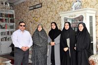 دیدار مدیرکل حفاظت محیط زیست استان یزد با همسران جانبازان شیمیایی به مناسبت روز پرستار