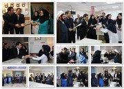 حضور مسوولان شاهین شهر در بیمارستان گلدیس شاهین شهر برای تبریک روز پرستار