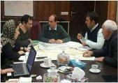 جلسه بررسی روند پیشرفت طرح تفصیلی طالقان