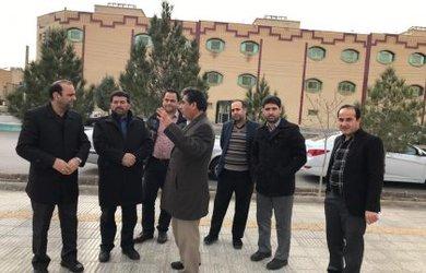 بازدید شهردار و اعضاء شورای شهر از سطح شهر