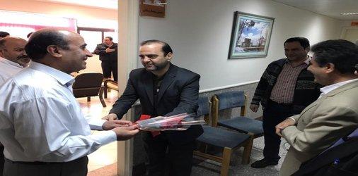 تجلیل از پرستاران توسط شهردار و اعضای شورای شهر