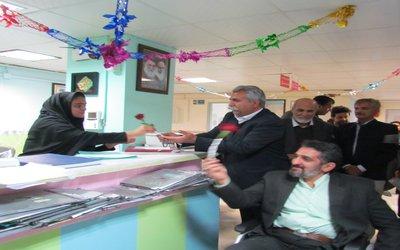 اعضای شورای اسلامی شهر وشهردارزابل روز پرستار را گرامی داشتند