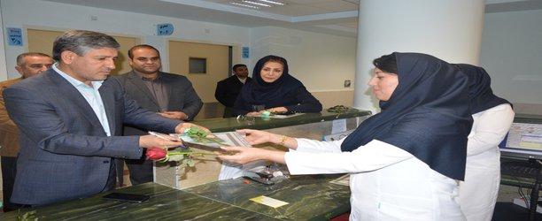 دیدار و تقدیر شهردار و رئیس شورای شهر یاسوج با پرستاران به مناسبت روز پرستار / تصاویر