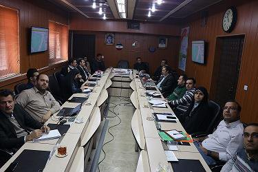 برگزاری جلسه شورای راهبری GIS در شرکت آب و فاضلاب شهری استان سمنان