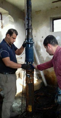 رفع مشکل آب شرب روستای نرکه شهرستان املش