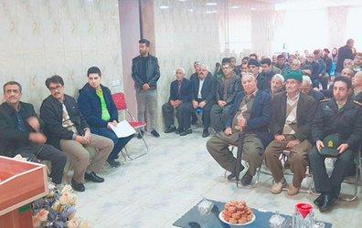 جلسه توجیهی در خصوص وصول مطالبات در روستای صلواتآباد برگزار شد