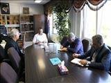 ملاقات حضوری تعدادی از پیمانکاران  با مدیر عامل آب و فاضلاب آذربایجان شرقی
