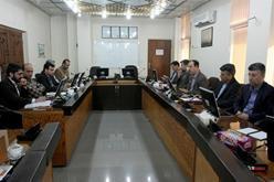 جلسه کارگروه بررسی روشهای نوین وصول مطالبات در شرکت برق منطقه ای هرمزگان