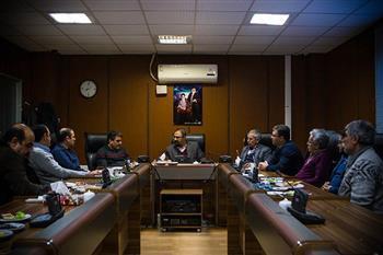 دیدار نماینده مجلس با رییس و اعضای هیات مدیره سازمان نظام مهندسی ساختمان استان البرز