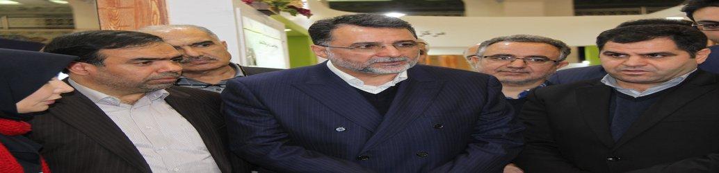 بازدید مهندس پژمان از غرفه اداره کل راه و شهرسازی استان البرز