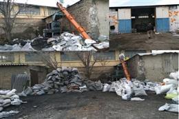 شناسایی ۱ واحد آلاینده تولید زغال و ۳ واحد صنعتی در شهرستان بهارستان