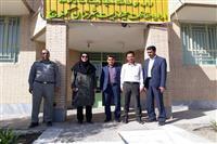 بازدید مدیرکل حفاظت محیط زیست استان کرمان به همراه جمعی از مسئولین ستادی از اداره شهرستان کهنوج