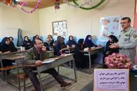 به مناسبت روزهوای پاک انجام شد: آموزش مفاهیم محیط زیست برای اولیا و مربیان مدرسه ی روستایی  در استانه اشرفیه