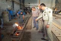 به مناسبت ردز هوای پاک انجام شد؛ بازدید از واحدهای صنعتی در استانه اشرفیه