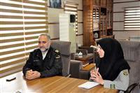 نشست همکاریهای مشترک محیط زیست با فرماندهی نیروی انتظامی استان یزد