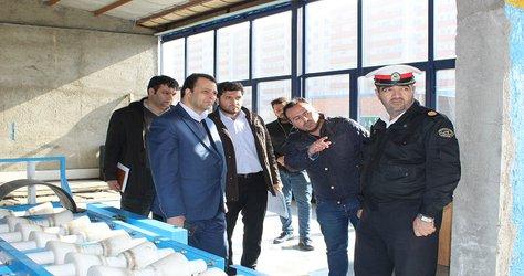 بازدید از مرکز معاینه فنی خودروهای سبک شهر آذرشهر