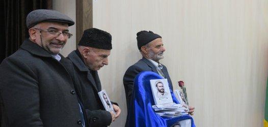 رونمایی از کتاب سردار صادق در فرهنگسرای خانواده شهرستان خوانسار