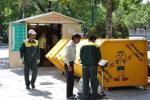 اجرای طرح جمعآوری پسماندهای خشک به صورت هوشمند در مشهد