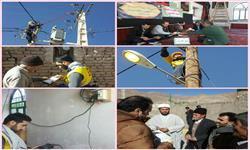 شبکه و تاسیسات توزیع برق روستای رشم شهرستان دامغان بهسازی شد