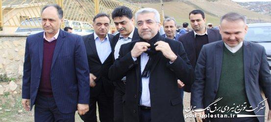 سفر وزیر محترم نیرو به استان گلستان افتتاحیه و کنگ زنی...